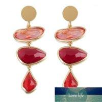 Dangle & Chandelier Geometry Shape Resin Korean Earrings For Women Irregularity Long Pendant Drop Earring 2021 Party Gifts1