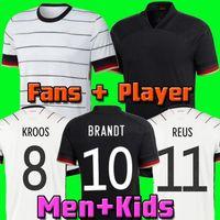 Germania 2020 Germany kit calcio Maglia casalinga Hummels Kroos Draxler REUS MULLER GOTZE Coppa dei Campioni Football Kit camice uniformi degli uomini + bambini
