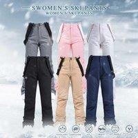 Женщины негабаритные плюс размер зимний мягкий колен Флис открытый брюки рыбы лагерь ладно на туризм лыжи теплые путешествия анорак на лыжах сноуборд