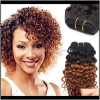 Capless Wigs Productshigh Quality Brazilian Virgin Curly Human Hair Is Soft, Weft Density Fall Off, Does Not Drop Delivery 2021 Jwbq3