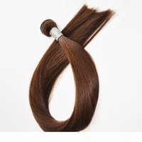 Estensioni di capelli umani di colore marrone scuro 100g 16 18 20 22 24 26 pollici Brasiliano indiano trama dei capelli 300g un lotto