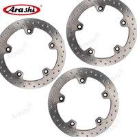 Establecer CNC Frontal Trasero Discos de disco Rotores para C 650 Sport 2021 C650 Accesorios de motor Frenos de motocicletas
