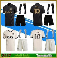 2021 LAFC Fussball Trikots Männer Kinder Set 21 22 Rossi Vela Kaye Mond-Hwan Los Angeles FC-Spieler für den Wandel Black Out Limited Edition Fans Version Football Hemden