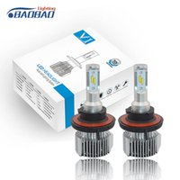 Faros de coche LED Auto Bulb 12V 24V Luz 35W H7 Faro H4 H1 H11 9004 9005 D1 D2 D3 H13
