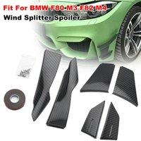 Fit für BMW F80 M3 F82 M4 Frontstoßstange Carbon Combined Wind Splitter Spoiler Kit