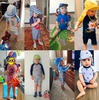 Kinder-Badeanzug Jungs-Dinosaurier-UV-Babybaden-Anzug Junge Kinder einteilig Schwimmen Kleinkind-Badeanzüge Badekleidung