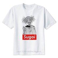 Benim Kahraman Akademi T-Shirt Erkek / Kadın T Gömlek Anime Casual Boku Yok Yüksek Kalite Moda Streetwear Tshirt 210420 Tops