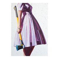 Kelly Reemtsen Axil Pintura a óleo Poster Imprimir Decoração Home Decoração Frameed ou Imfamed Material Fotopaper