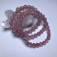 bracelet Ketang natural Madagascar powder crystal jelly horse single circle women's jewelry