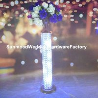 Party Decoration Luxury Style Gor Event Decor Chrome Crystal Ball Centerpieces For Wedding Table