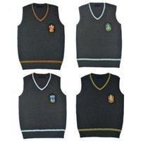 해리 포터 스웨터 코스프레 의류 동일한 V 넥 스웨터 그릴프 인도 조끼 남자와 여자의 JK 조끼