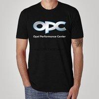 남성용 티셔츠 패션 레귤러 코튼 반팔 OPC Opel Performance Center Motorsport 경주 GT 남성 클래식 T 셔츠