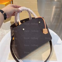 Designer Womens Borse Borse Borse Designer Tote Bag Monograms Canvas M41055 Borsa a croce Montaigne mm BB Borsa