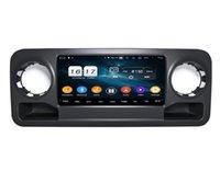 "4GB + 128 Go Lecteur DVD 10,25 ""PX6 Android 10"" PX6 Android pour Mercedes-Benz Sprinter 2019-2020 DSP Stéréo Radio GPS Navigation WiFi Bluetooth 5.0"