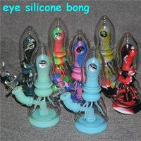 Eye Bong Water Pipes Hookahs Oil Rigs Heady Glass Bongs Beaker Dab With 14mm bowls