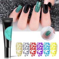 Nail Gel 8ml Creative Stamping Plate Polish Flowers Leaves Print UV Lacquer Soak Off Varnish Art Decorations TO