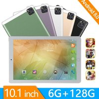 Tablet PC 2021 4G Phone Call Android 9.0 10 Inch Octa Core 6GB + 128 GB ROM Bluetooth Wi-Fi Steel Screen Tablets
