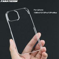 Yüksek Kaliteli Parlak Sert Plastik PC Temizle Kılıfları iPhone13 Mini Için 13pro 13mini Cystal Telefon Kapak iphone 13 Pro Max