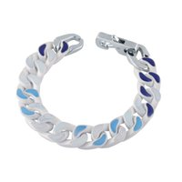 2021 Launched Bracelet design fashionable colourful brands Chain Necklace letters for men and women Festival gifts box