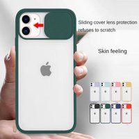 Phone Cases Apple 12 Tracking Shot for Iphone11 Sliding Window X Transparent Frosted 12pro Shell TPU Cover 8