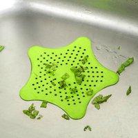 Starfish Kitchen Herramienta Fregadero Pelo Anti Bloqueo Filtro Succión Copa de Silica Gel Suelo Drenaje