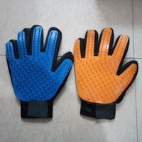 Dog Grooming 200PCS Cats Dogs Massage Glove Soft TPR Pet Bath Brush Shower Comb Right Hand Apply