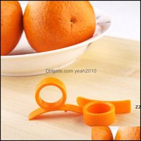 Altro Kitchen Kitchen, Dining Bar Home Gardenkitchen Gadget Strumenti di cottura Peeler Parer Dito Tipo Open Peel Orange Device HWA7403 Drop D