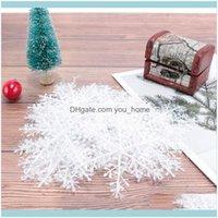 Decorations Festive Supplies Home & Garden30Pcs Pretty White Snowflake Flatback Pearl Embellishments Party Craft Cardmaking Christmas Decor
