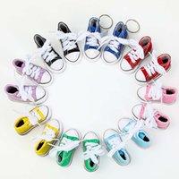 Keychain della scarpa della sneaker della mini sneaker della canvas del mini tela della subacqueo della canvas del mini con anello diviso