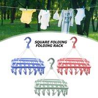Hangers & Racks 360 Degree Rotation Multi-functional Drying Rack Sock Holder Wardrobe Storage Cloth Bedroom