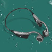 B2 سماعات بلوتوث اللاسلكية الرياضة سماعة تشغيل 8 جرام الذاكرة الأذن العظام توصيل سماعة الهاتف الخليوي سماعة DHL السفينة
