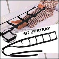 Aessori Attrezzature Forniture per il fitness Sport Esterneessories Bed Sit Up Strap Leggero Maniglia leggera La scala con 5 impugnature a mano