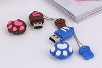 Cartoon Cat paw USB flash Drive 4GB