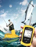Deeper Fish Finder Wireless Sensor 100meter Operation Range Easy Hunt Fang Gutes Werkzeug für Fishman