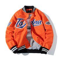 남성용 자켓 Unisex 패션 힙합 varsity 야구 재킷 자수 봄 가을 streetwear 레터맨 코트 겉옷 탑스 S-XXL