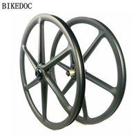 عجلات الدراجات Bikedoc Ruedas de Carbono Ciclismo 650B الكربون 6 تكلم عجلة الجبل 27.5er