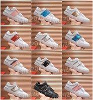 Remache casual para hombre zapatos de cuero blanco zapato de caminata de cuero de moda parejas de moda para entrenadores de remaches de alta calidad DES CHAUSSURES