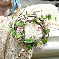 Decorative Flowers & Wreaths 115cm Artificial Flower Long Rattan Realistic Hanging Silk Plants Vine Garden Wedding Display Cabinet Home Furn