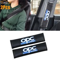 Safety Belts & Accessories VEHICAR 2PCS Car Seat Belt Covers Driver Shoulder Protector For OPC Logo Knitting Vehicle