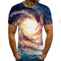 인쇄 3D 반소매 캐주얼 재미있는 티셔츠 남성 거리 착용 여름 패션 힙합 T-Shir 티셔츠