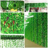 Plantas de imitación Jardín Artificial Caña de uva Vid Rojo Verde Planta Decoración Boda Fiesta Adornos Adornos Decorativos Flowe Flowers