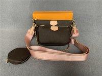 Designer Tasche Womens Totes Multi Pochette Zubehör Crossbody Mode Handtasche Umhängetaschen Geldbörse Leder