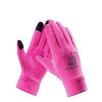 Männer Frauen Winter Fahrradhandschuhe Volle Finger Winddichte Touchscreen Handschuhe Warme Thermal Fleece Ski laufen Outdoor Sporthandschuhe