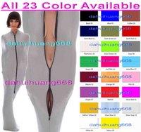 Seksi 23 Renk Likra Spandex Mumya Takım Kostümleri Uyku Tulumları Unisex Mumya Cosplay Kostümleri Seksi Uyku Tulumları Mumya Kostümleri Kıyafet DH262