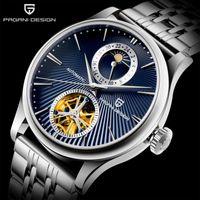 Design Top Fashion Men Watch Tempo libero Semplice Meccanico Classic Sapphire Glass Renogio Mangoro WristWatches