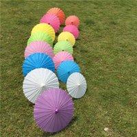 가장 저렴한 !!! 20cm 웨딩 신부 들러리 파티에 대 한 20cm 중국 일본어 우산 파티 여름 태양 그늘 아이 크기