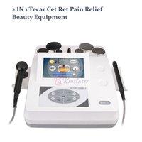 2 in 1 ret ret fisioterapia monopolare RF apparecchiatura tecar terapia dolore sollievo per il sollevamento viso