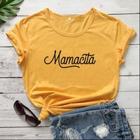 Mamacita Fashion Clothing Harajuku Women T Shirt Cotton Plus Size O Neck Funny Letter Short Sleeve Casual Tees