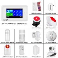 FUERS PG106 WIFI GSM 3G Alarm System Home Security PIR Motion Detector Wireless Door Window Sensor Smoke Detector Alarm System1