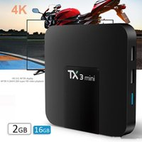 TX3 Mini Android 8.1 TV Box S905W Smart Caja de For 4K Television X96 Air TX6